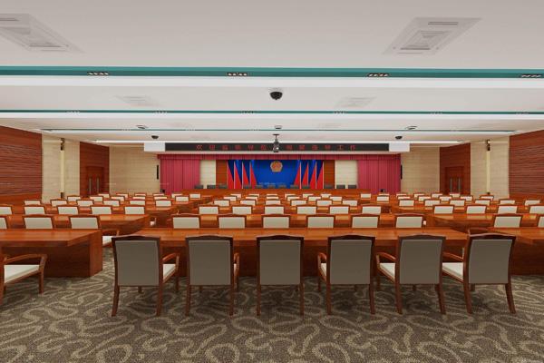 公安局大楼会议室会议系统方案设计
