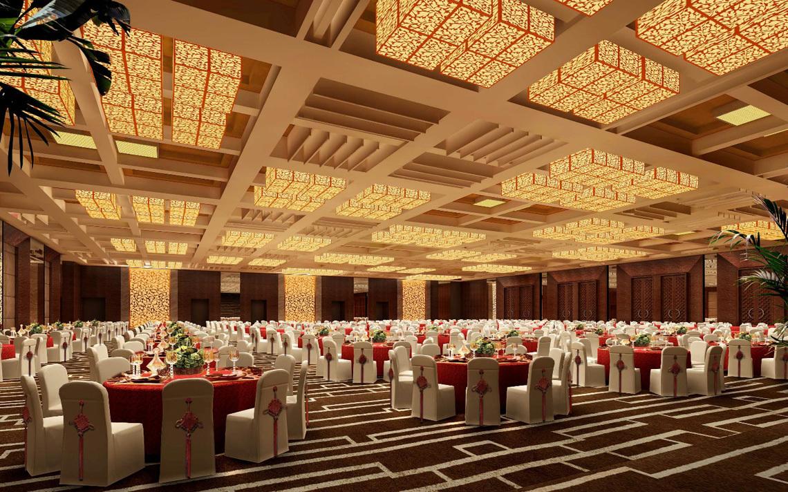 大型会议室宴会厅音响系统方案设计,智能无纸化会议室扩声设备