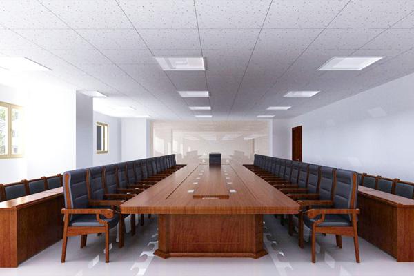 中型企业办公大楼会议室方案设计