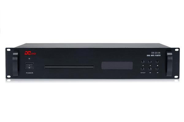 DI-2118受控DVD/MP3播放器,智能數字公共廣播系統設備-帝琪DIQI