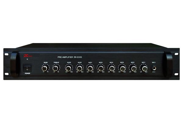 DI-2101前置放大器,智能数字公共广播系统设备-帝琪DIQI