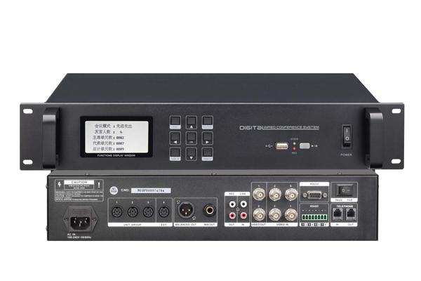 QI-1028表決、視像、討論型會議控制系統主機,演出會議系統設備【品牌 報價 廠家 批發 圖片 推薦】