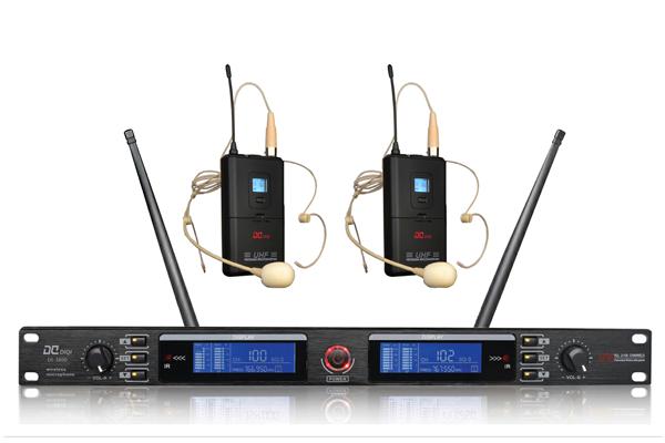 DI-3800一拖二無線會議話筒,手持咪,耳麥頭戴麥克風【品牌 報價 廠家 批發 圖片 推薦】