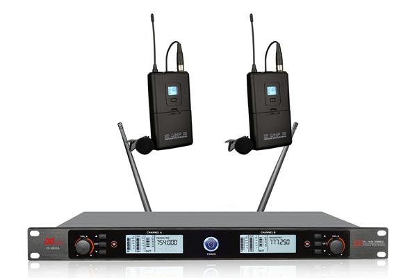 DI-3802A 無線領夾話筒(一拖二)