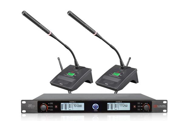 DI-3802A一拖二無線會議話筒,手持咪,耳麥頭戴麥克風【品牌 報價 廠家 批發 圖片 推薦】