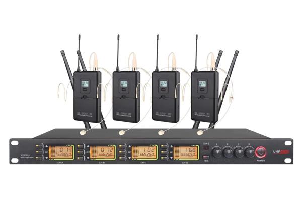 DI-3804DI-3804 无线耳麦话筒(一拖四)